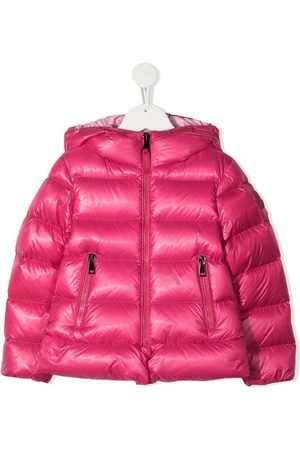 Moncler Girls Puffer Jackets - Hooded down jacket