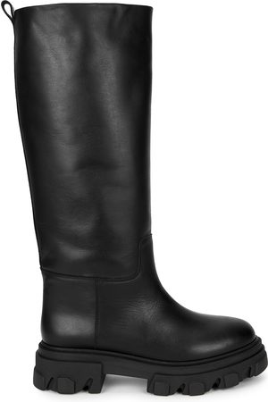 GIA X Pernille Teisbaek leather knee-high boots