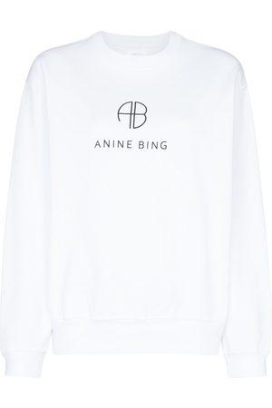 ANINE BING Women Sweatshirts - Logo printed sweatshirt