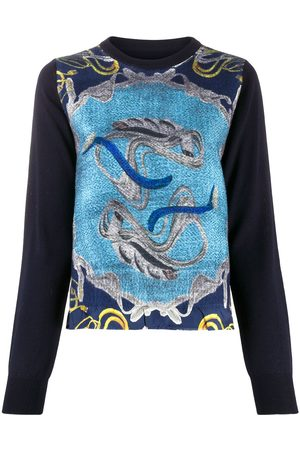 Maison Margiela Graphic-intarsia jumper