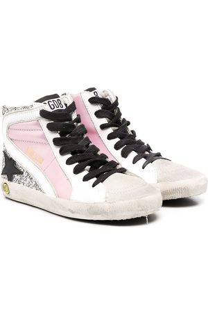 Golden Goose Girls Sneakers - Francy hi-top sneakers