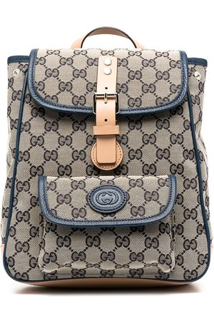 Gucci Girls Rucksacks - GG Supreme backpack - Neutrals