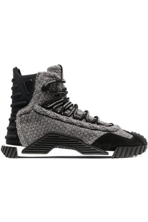 Dolce & Gabbana Men Lace-up Boots - Lace-up sneaker sole boots