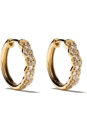 ASTLEY CLARKE 14kt yellow diamond Mini Interstellar hoops