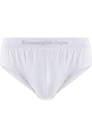 Ermenegildo Zegna Logo waistband briefs