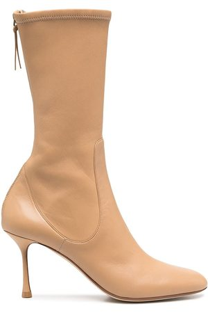 Francesco Russo Women Ankle Boots - Rear-zip ankle boots - Neutrals