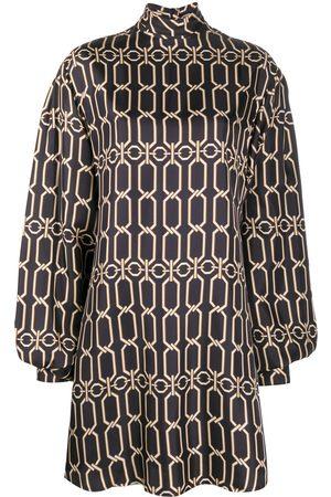 Victoria Beckham Women Party Dresses - Graphic chain print mini dress