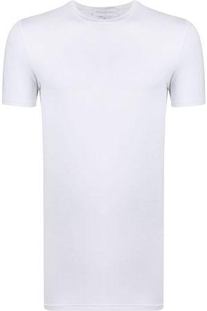 Ermenegildo Zegna Men Short Sleeve - Short-sleeved round neck T-shirt