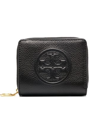 Tory Burch Embossed all-around zip wallet