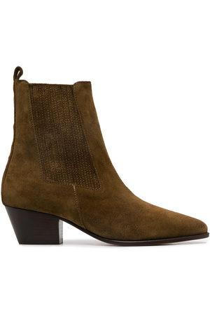 Sandro Amelya ankle boots - Neutrals