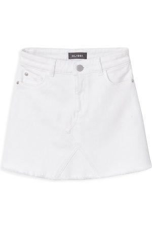 DL1961 Girls Mini Skirts - DL1961 Premium Denim Girl's Denim Mini Skirt - - Size 10