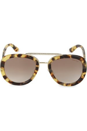 Miu Miu Women's 53MM Embellished Pilot Sunglasses