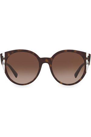 VALENTINO Women's Legacy 55MM Round Sunglasses
