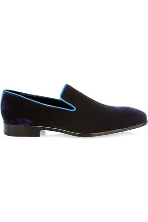 Saks Fifth Avenue Men's COLLECTION Velvet Loafers - - Size 12