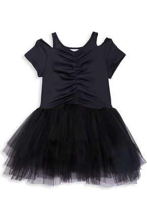 I Love Plum Little Girl's & Girl's Cap-Sleeve Cutout Tutu - - Size 4