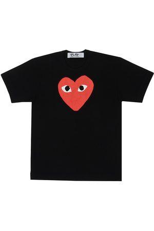 Comme des Garçons Women's Large Heart Graphic T-Shirt - - Size XS