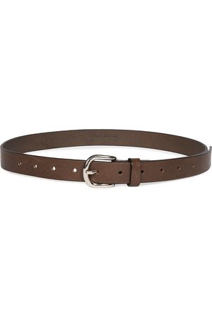 Isabel Marant Women's Zap Leather Belt - - Size 95 (XL)