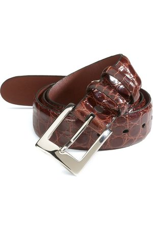 Saks Fifth Avenue Men's COLLECTION Alligator Belt - - Size 46