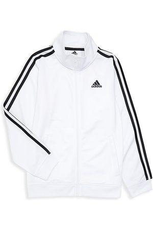 adidas Boy's Iconic Tricot Jacket - - Size Large (14-16)