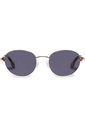 Le Specs Women Round - Vamp 53MM Round Sunglasses
