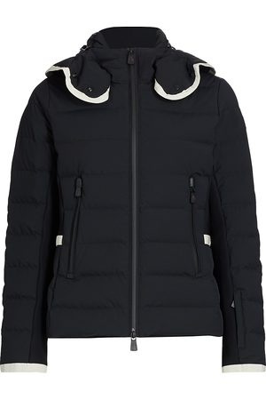 Moncler Women's Lamoura Fitted Down Ski Jacket - - Size 5 (XXL)