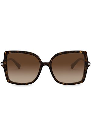 VALENTINO Women's 56MM Square Sunglasses