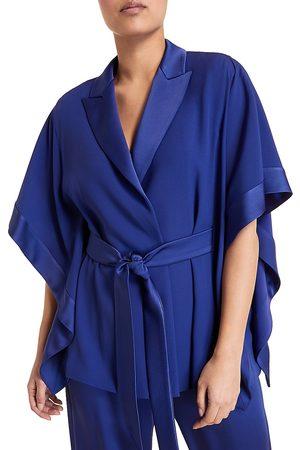 Persona by Marina Rinaldi Women's Elegante Flavia Frisottino Wrap Jacket - - Size 16 W