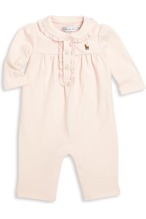 Ralph Lauren Baby Girl's Polo Coverall - - Size 9 Months