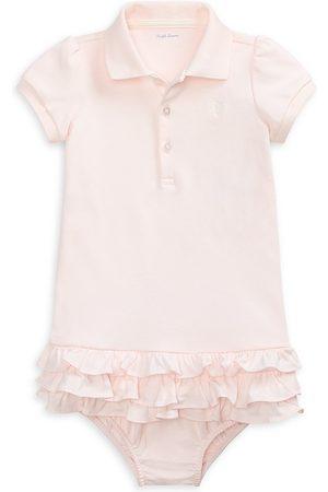 Ralph Lauren Baby Girl's Cupcake Polo Dress - - Size 9 Months