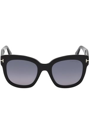 Tom Ford Women's Beatrix 52MM Polarized Lens Oversize Square Sunglasses