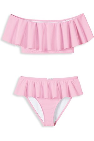 STELLA COVE Little Girl's & Girl's 2-Piece Ruffle Bikini Set - - Size 6
