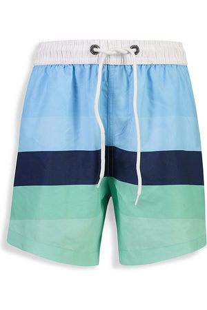 Snapper Rock Little Boy's & Boy's Stripe Board Swim Trunks - - Size 3