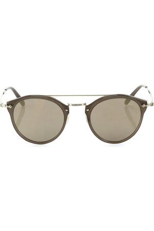 Oliver Peoples Women's Remick 50MM Round Mirrored Sunglasses