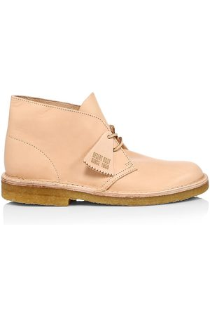 Clarks Men's Leather Desert Boots - - Size 11