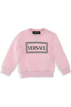 VERSACE Baby Girl's Logo Felpa Sweater - - Size 6-9 Months