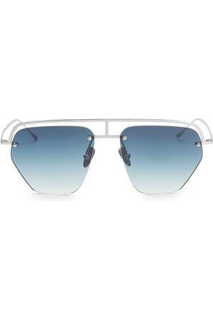 Smoke X Mirrors Women's The Line-1 52MM Aviator Browline Sunglasses