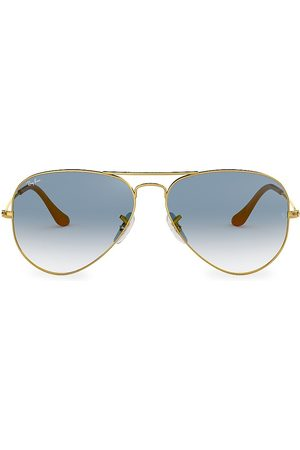 Ray-Ban Women's 55MM Aviator Sunglasses