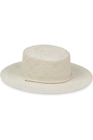 Lack of Color Women's Wanderer Woven Wide-Brim Boater Hat - - Size L