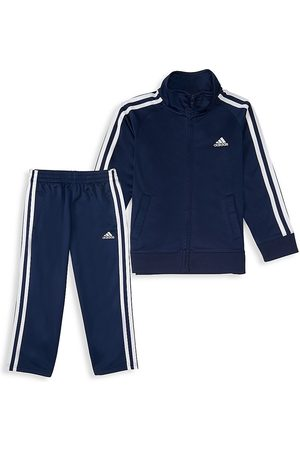 adidas Baby Boy's 2-Piece Signature Tracksuit - - Size 24 Months
