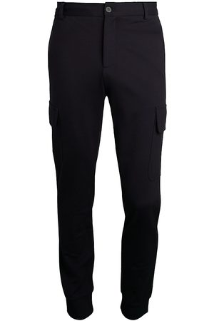 Saks Fifth Avenue Men's COLLECTION Modern-Fit Cargo Knit Joggers - - Size Small