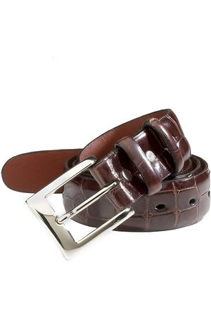 Saks Fifth Avenue Men's COLLECTION Alligator Belt - - Size 32