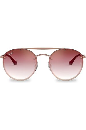 Ray-Ban Women's RB3614 54MM Blaze Round Aviator Sunglasses