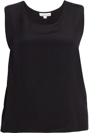 Caroline Rose Women's Silk Crepe Tank - - Size 3X (22-24)