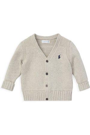 Ralph Lauren Baby Boy's Combed Cotton Button-Front Cardigan - - Size 6 Months