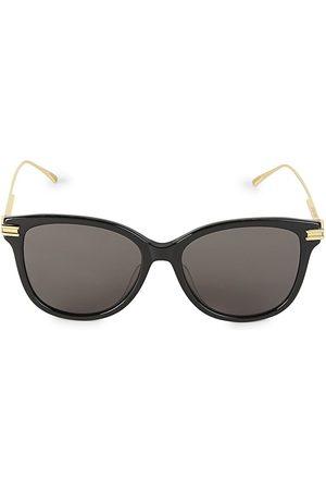 Bottega Veneta Women's 55MM Square Sunglasses