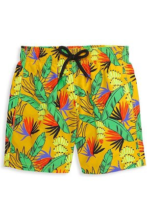 Vilebrequin Little Boy's & Boy's Go Bananas Swim Trunks - - Size 14