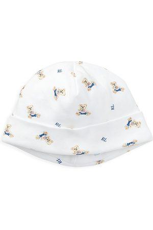Ralph Lauren Interlock Bear-Print Hat
