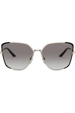 Prada Women's 59MM Cat Eye Sunglasses
