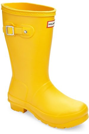 Hunter Kid's Mid-Calf Rain Boots - - Size 4 (Child)