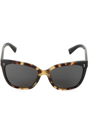 VALENTINO Women's 55MM Studded Square Sunglasses
